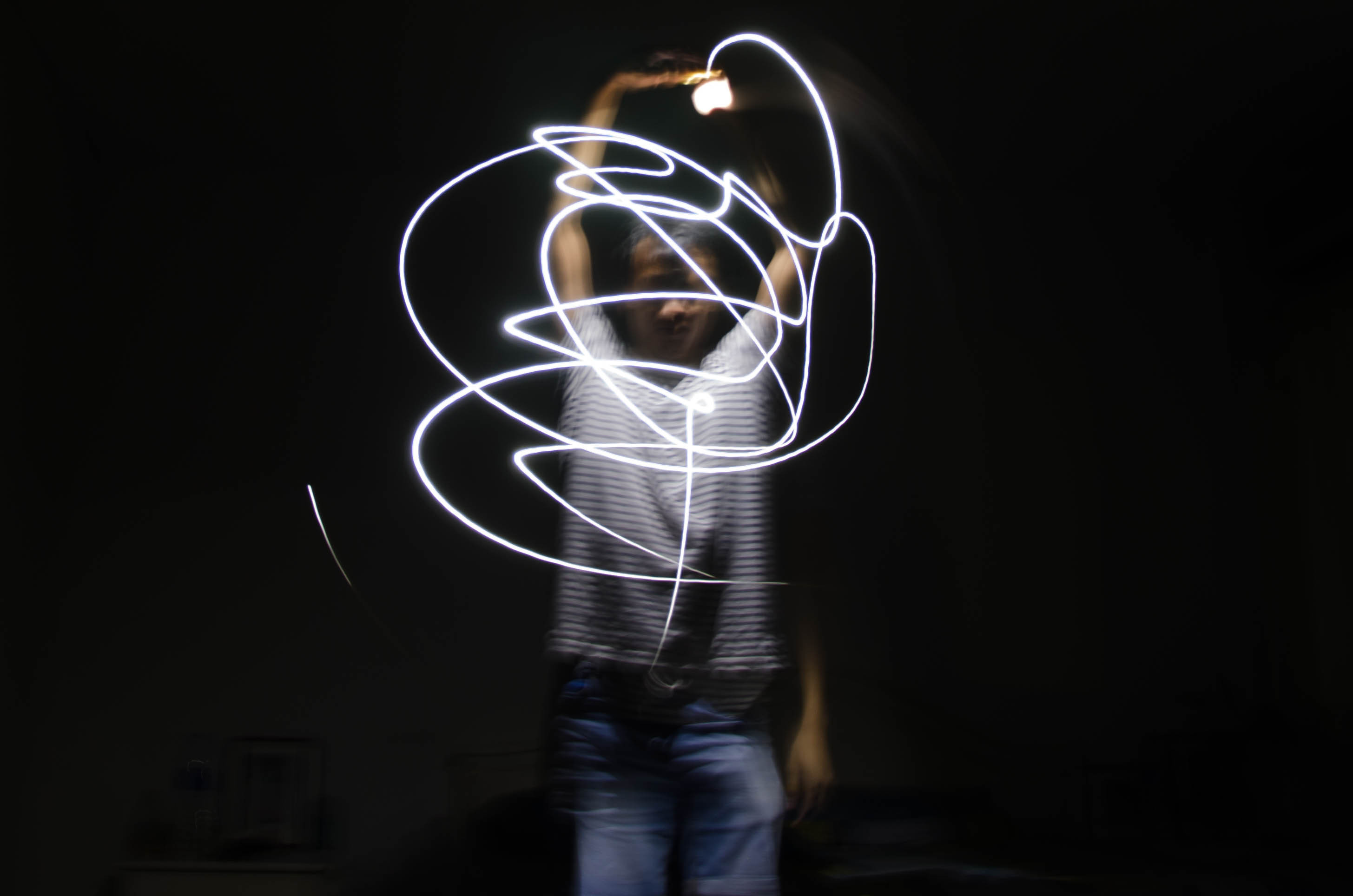 Fotografía de Light painting