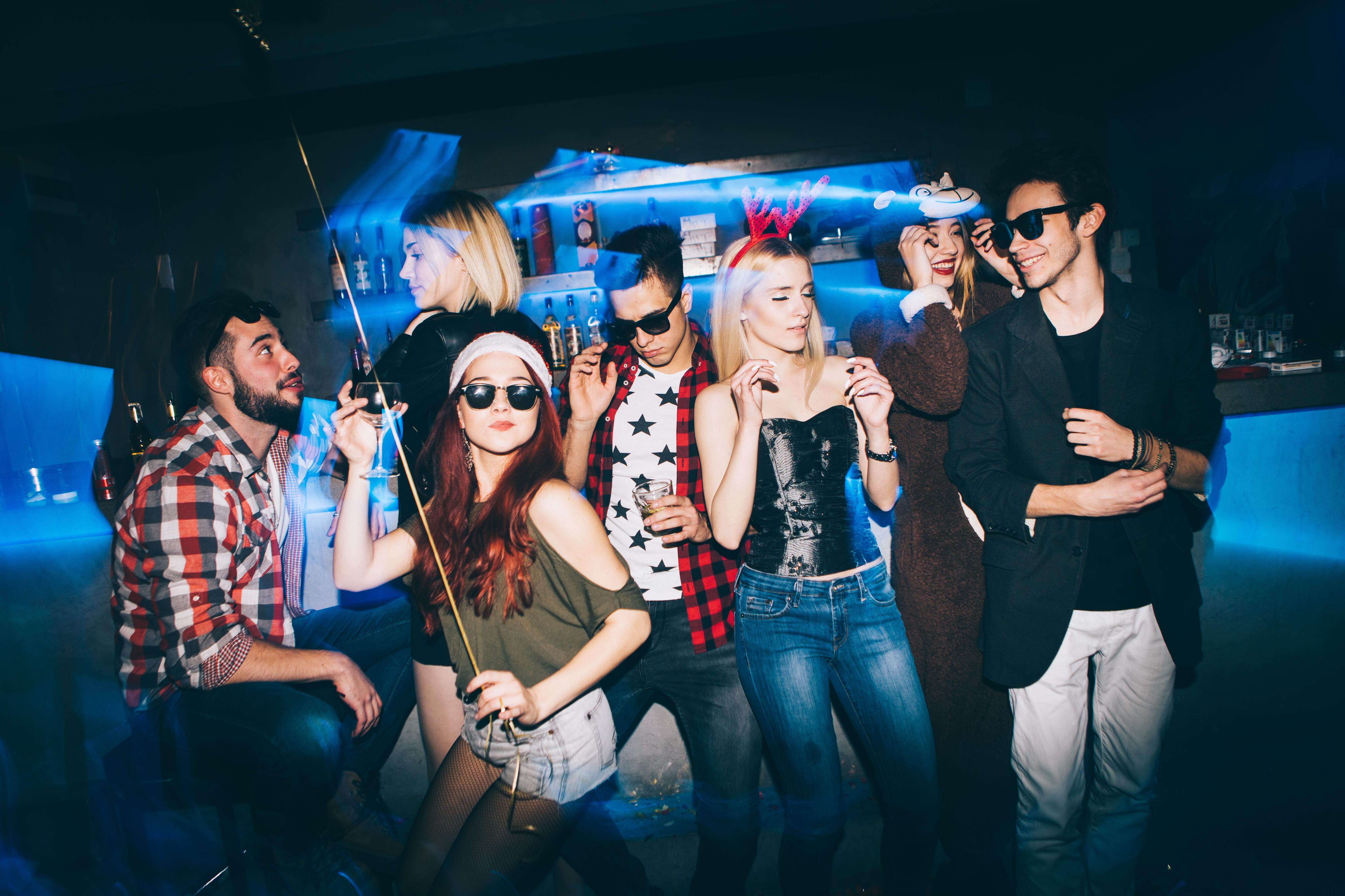Fotografía de fiestas | Congelado con flash